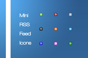 Mini Rss Feed Icons